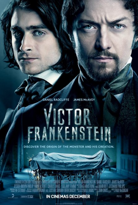 Victor Frankenstein Movie Poster Courtesy of IMDB 151127