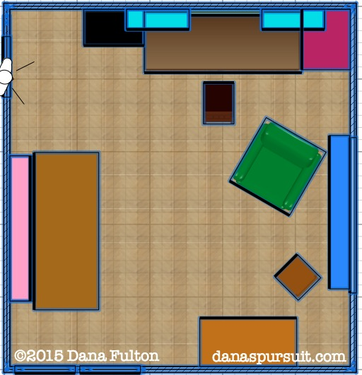 Office Layout 2D