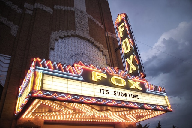 Fox Theater Hutchinson It's Showtime Marquee