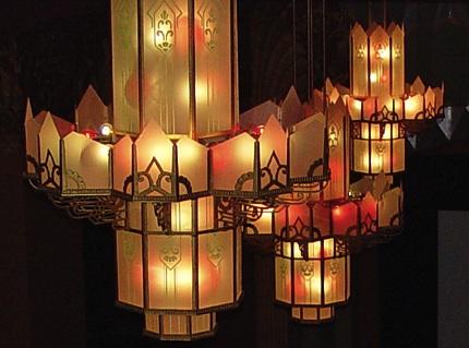 Fox Theater Hutchinson chandeliers