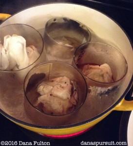 Candle Jar Heating Wax