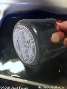 Candle Jar Project Washing Jars