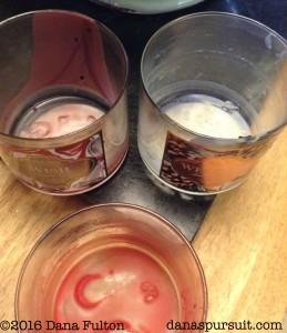 Candle Jars Wax Residue