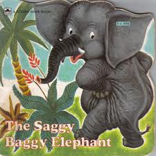 The Saggy Baggy Elephant Book Cover