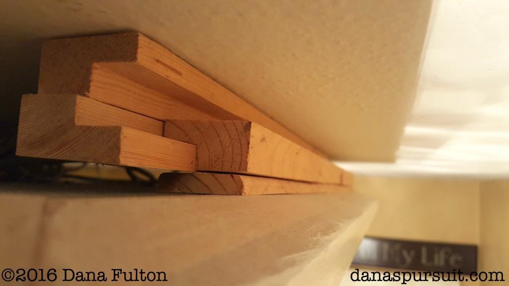 Hallway Light fixture rails
