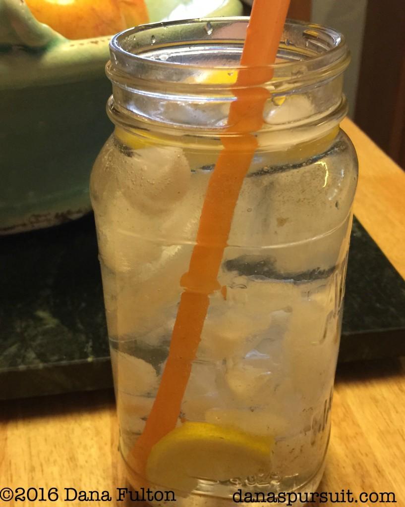 Lemon Water Iced