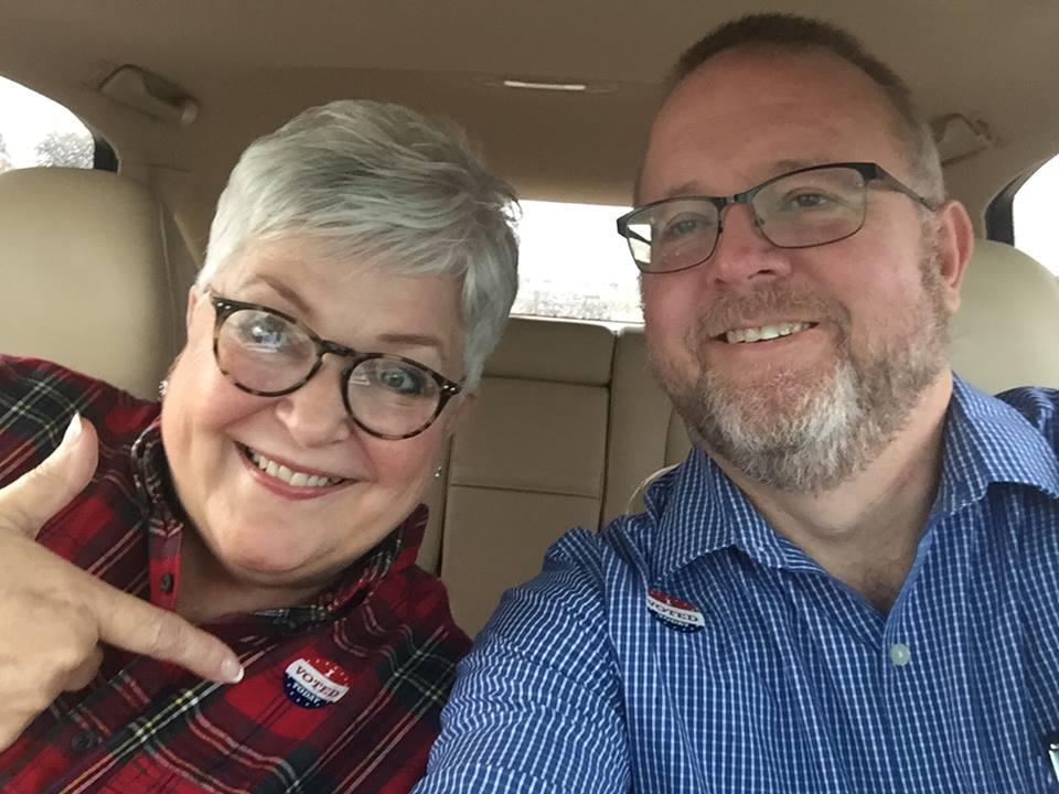 Dana and Jack Vote